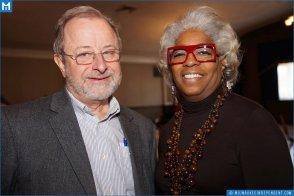 Wanda with Leo Ries